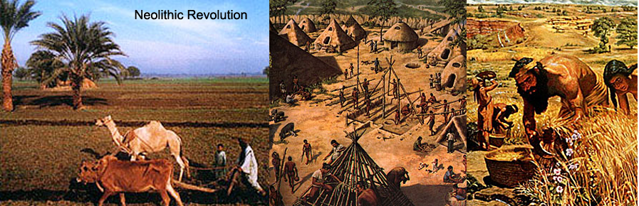 Neolithic Revolution, Courtesy of Wikimedia Commons